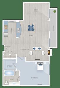 One bedroom Apartments-in-Sherman-Oaks-CA